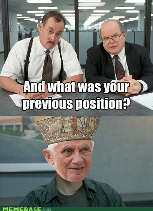 pope resigned interview - 7056145664