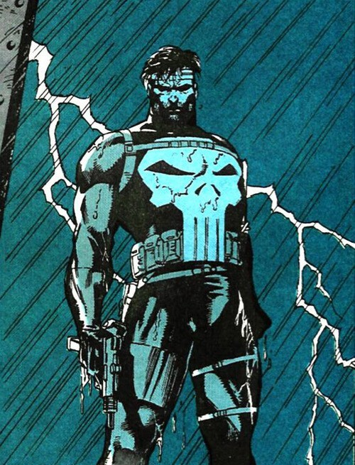 Jim Lee,punisher,off the page,angry