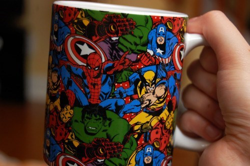 marvel comics awesome mug - 7056187904