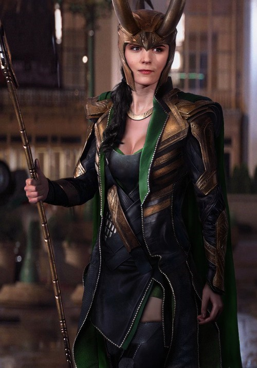 loki costume Sexy Ladies rule 63 - 7056203008