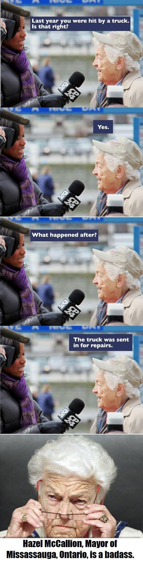 This Grandma Has the Right Perspective on Life