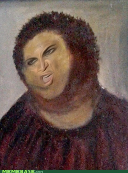 Music botched jesus art unflattering beyonce paintings - 7056816128