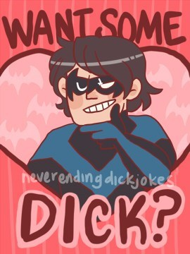 innuendo nightwing robin Valentines day - 7056843776