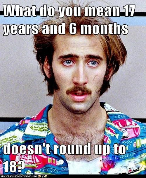 raising arizona round up confused nicolas cage underage - 7056856832