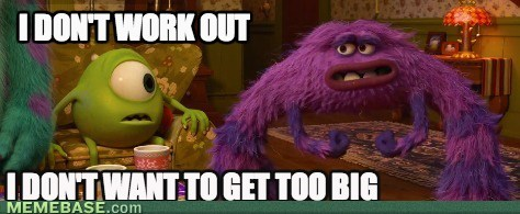 do you even lift,monsters inc,movies