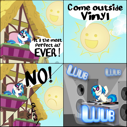wubs,outside,vinyl scratch,drop the bass