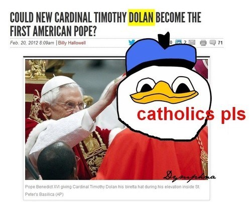 cardinal dolan pope catholicism - 7057149696