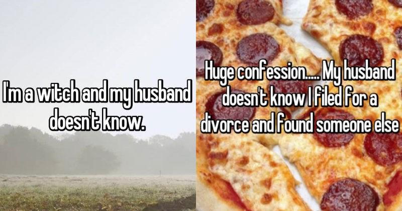 secrets kept from husbands, secretive wife, married life