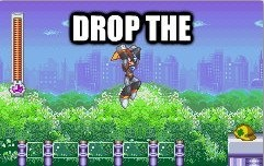 dubstep mega man capcom drop the bass bass - 7058170624