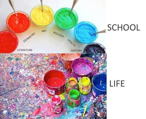 class life paint mess - 7058270976