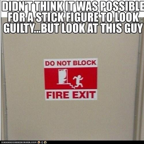 GUILTY STICK FIGURES