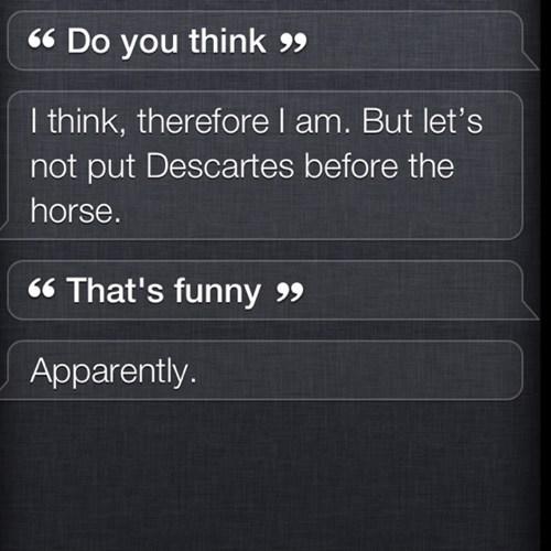 Talking with Siri