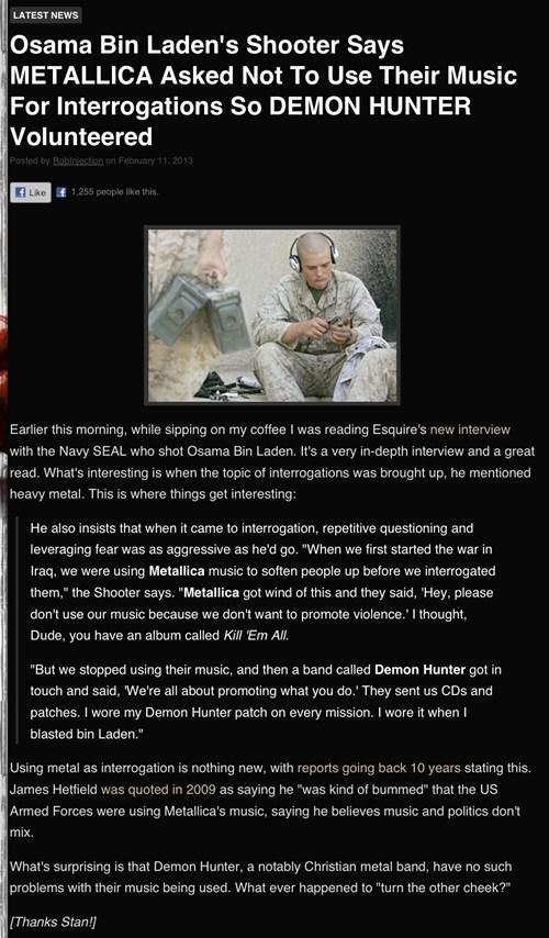news metallica military Music FAILS - 7058377472
