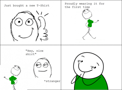 compliments new clothes Rage Comics - 7058429696