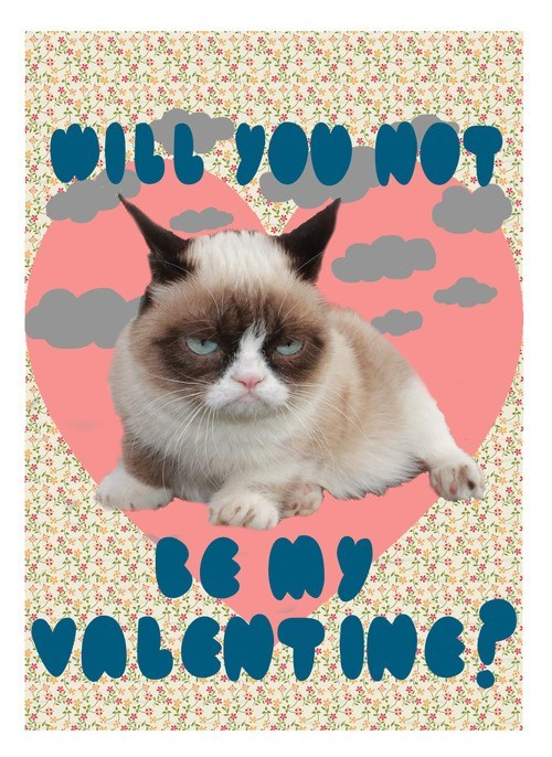 Grumpy Cat Cats Valentines day - 7058562048
