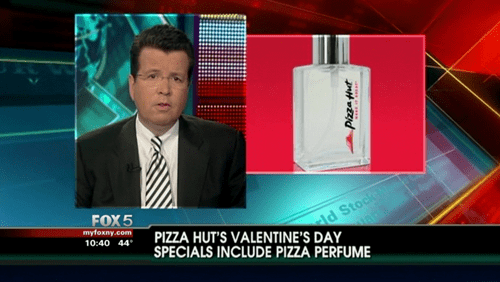 perfume fox news pizza hut