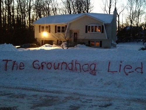 snow,groundhog day,winter