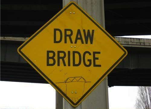 sign literal bridge - 7058871808