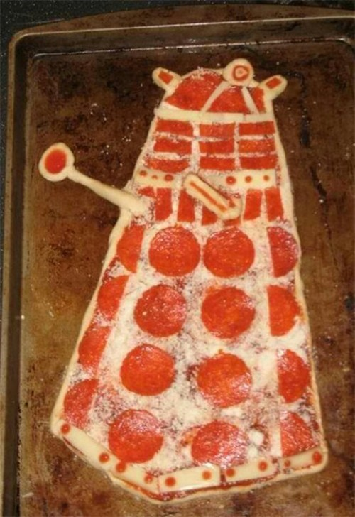 pizza nerdgasm doctor who food g rated win - 7058881024