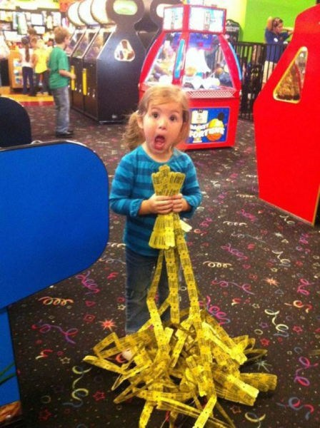 jackpots,arcades,tickets