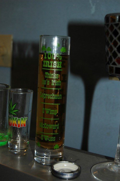 sloshed swag shot glasses irish after 12 - 7058939904