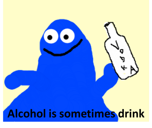 drink sometimes vodka wat