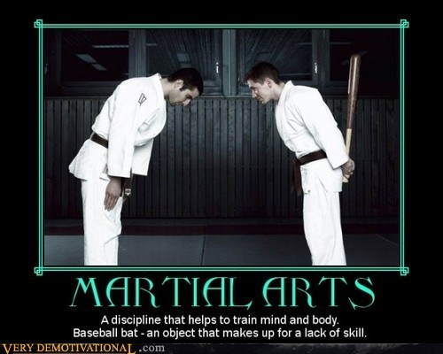 baseball bat,martial arts,discipline
