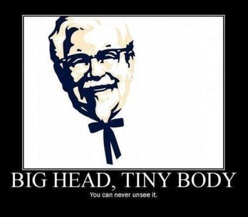 tiny body the colonel kfc - 7059086336