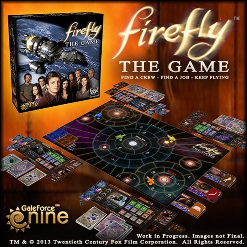 board games Firefly concept captain malcolm reynolds - 7059135744