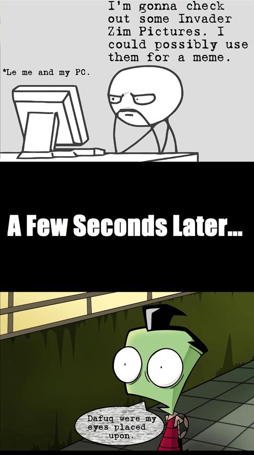 Invader Zim Fan Art fandom problems cartoons - 7059245568