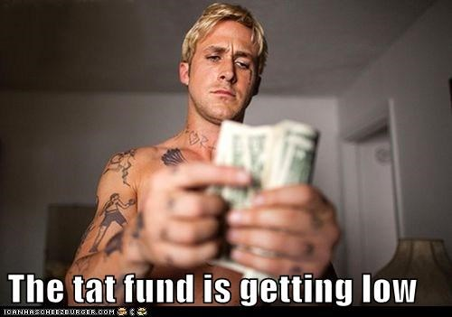 low,tattoos,Ryan Gosling,money
