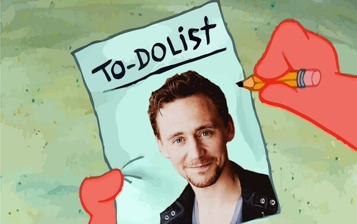 tom hiddleston SpongeBob SquarePants Valentines day - 7059484416
