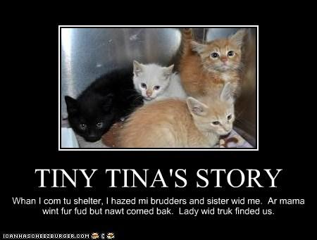 TINY TINA'S STORY