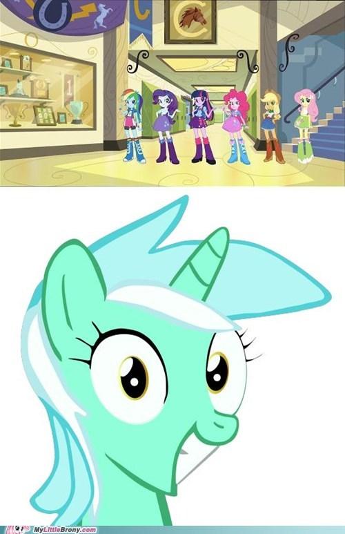 equestria girls lyra humans - 7059802624