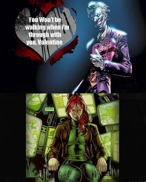 joker batgirl Valentines day - 7060056832