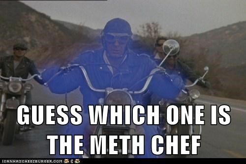 GUESS WHICH ONE IS THE METH CHEF