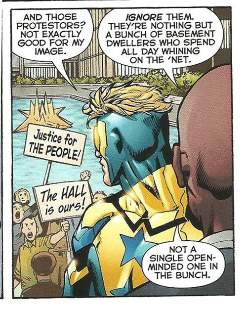 demographic,booster gold