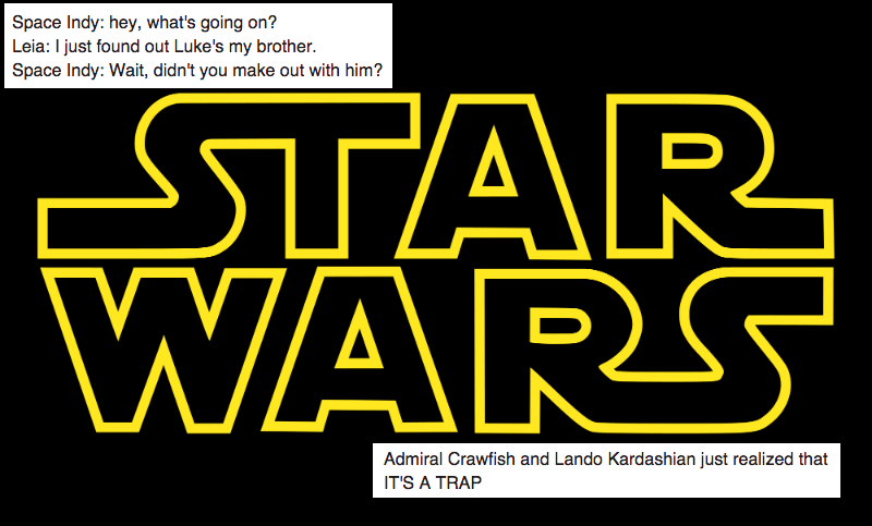 tweets from someone watching star wars for the first time