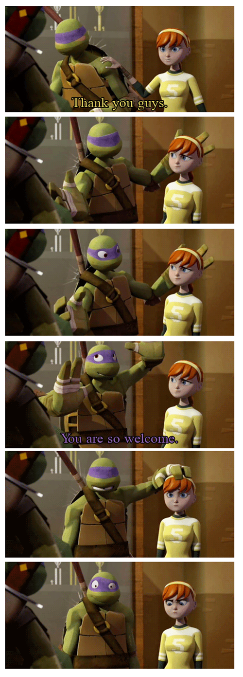 TMNT,Awkward,couple