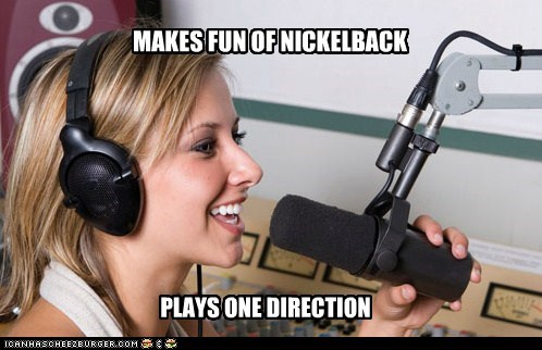 MAKES FUN OF NICKELBACK PLAYS ONE DIRECTION