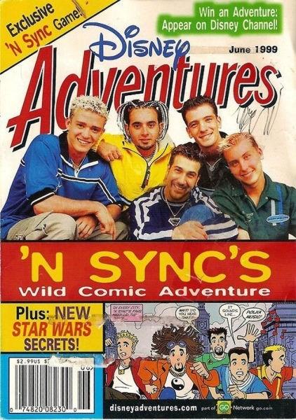 disney,nsync,magazines