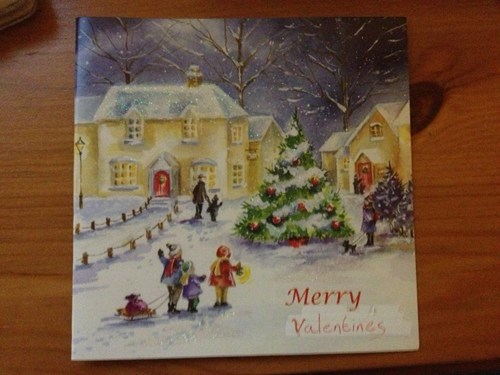 christmas cards Valentines day - 7061128960