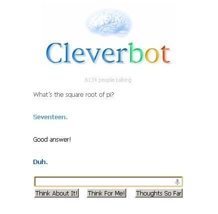 Cleverbot math - 7061168128