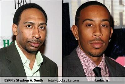 ESPN's Stephen A  Smith Totally Looks Like Ludacris