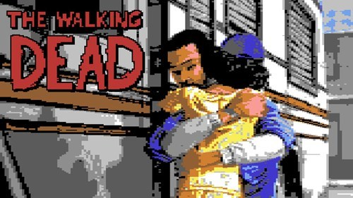 feels,commodore 64,The Walking Dead