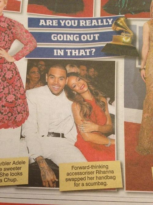 scumbag fashion news chris brown rihanna - 7061234176