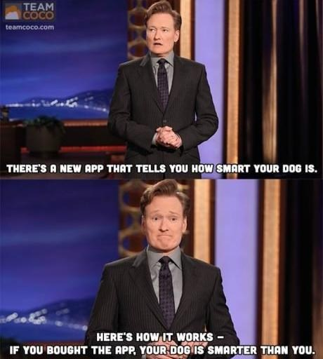 conan,apps,dogs,g rated,AutocoWrecks