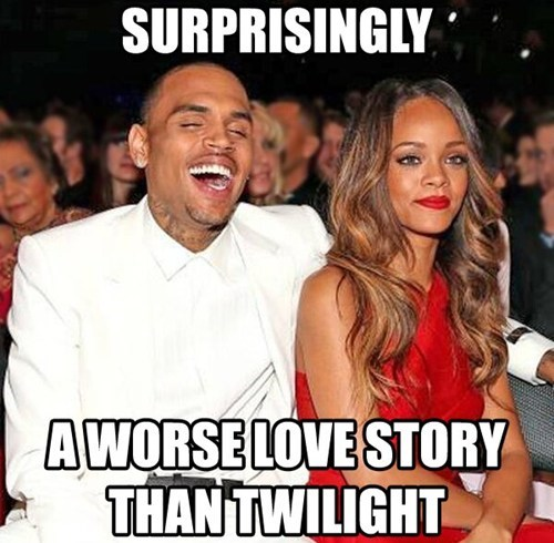 relationships chris brown rihanna twilight celeb