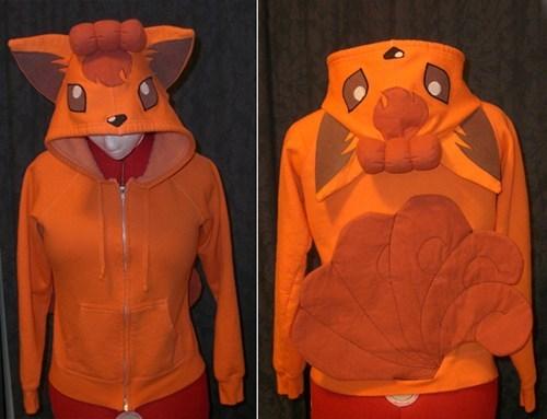 Pokémon,vulpix,Fan Art,hoodie