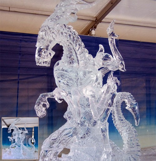 sculpture nerdgasm alien ice - 7061779200